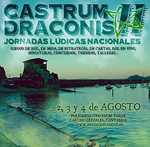 Castrum Dranonis II. A Design, and Advertising project by Sara Pérez         - 03.07.2013