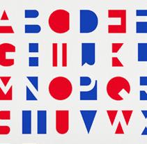 Kuns Font. Un proyecto de Diseño de Mr. Kuns ™         - 03.07.2013