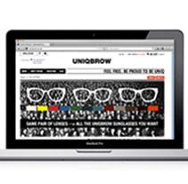 Uniqbrow.com. Un proyecto de Diseño, Desarrollo de software, UI / UX e Informática de Lavitoverda  - 05-07-2013