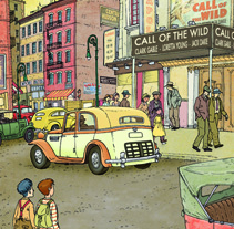 the picture palace. Um projeto de Ilustração de david ouro         - 14.07.2013