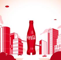 Coca Cola SmileWorld. Un proyecto de Diseño, Ilustración y Motion Graphics de Felipe Moreno - Lunes, 15 de julio de 2013 01:10:59 +0200