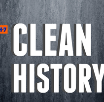 Clean History. Un proyecto de Publicidad, UI / UX e Informática de Adriana Castillo García         - 22.09.2014