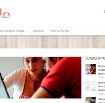Web para Grado en la Universidad de Vigo. Um projeto de Design de Lúa Louro Glez         - 23.07.2013