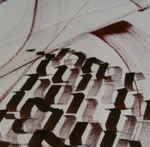 Caligrafia. Un proyecto de Ilustración de Alberto Luque - Sábado, 27 de julio de 2013 20:01:53 +0200
