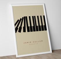 Jamie Cullum Tour Poster 2013 . Un proyecto de Diseño, Ilustración y Publicidad de Edu Torres  - 22-08-2013