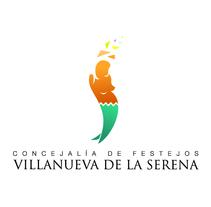 Logo Concejalía de Festejos de Villanueva de la Serena. A Design, and Advertising project by Alexander Caro         - 28.09.2013