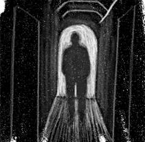 El faro (Ilustración digital). Um projeto de Ilustração e Design gráfico de Octavio Manzano Guijarro         - 08.10.2013