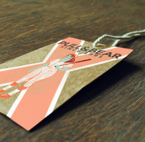 CLOTHING HANG TAGS. A Design, Illustration, and Advertising project by Saint Kilda - 15-10-2013
