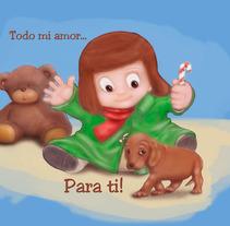 Todo mi amor... Para ti!. A Illustration project by Alex Mojica Mtz - 28-11-2013