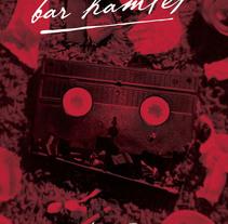 Bar Hamlet // Cartel. Un proyecto de Diseño de Tony Raya  - Jueves, 23 de enero de 2014 00:00:00 +0100