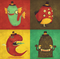 Baby Monsters. A Design, Illustration, Advertising, Film, Video, and TV project by Jotaká         - 11.11.2013