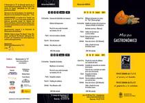 Jornadas Gastronómicas. Um projeto de Design e Publicidade de María Agulló         - 11.11.2013