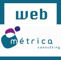 Página Web de Metrica Consulting, S.L.. A Design, Illustration, and UI / UX project by Pedro Soria García         - 18.11.2013