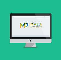 Propuesta Logo Mala Pronta. Un proyecto de Diseño de Carlos Garrido Velasco         - 25.11.2013