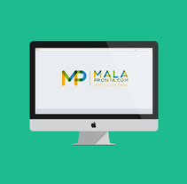 Propuesta Logo Mala Pronta. Um projeto de Design de Carlos Garrido Velasco          - 25.11.2013