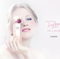 "Tresor in love "" LANCOME"". A Advertising, Photograph, and 3D project by DAVID CASAS SANCHEZ         - 25.11.2013"