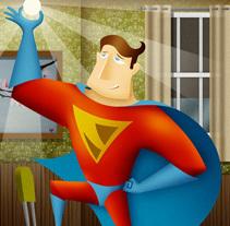 Super-casual. Un proyecto de Diseño, Ilustración y Publicidad de Víctor Ballester Granell         - 27.11.2013