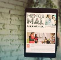 """Red Cross - """"Menos Mal"""" Digital Campaign. Um projeto de Design, Publicidade e Desenvolvimento de software de Fran Fernández         - 30.09.2012"""