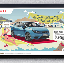 SEAT IBIZA ITECH. A Design, Illustration, and Advertising project by Adalaisa  Soy - May 04 2013 12:00 AM