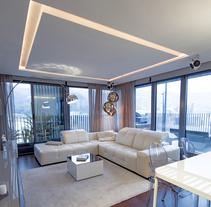 Diseño Interior vivienda M&P. Un proyecto de Diseño de muebles, Diseño de interiores y Diseño de iluminación de Muka Design Lab  - 08-12-2013