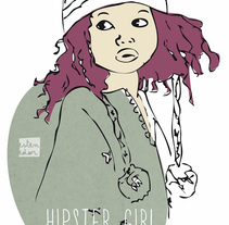 Ilustraciones para camisetas. Un proyecto de Ilustración de Carla Olivares         - 10.12.2013