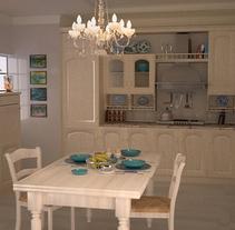 Infoarquitectura cocina. Un proyecto de Diseño, Publicidad, Instalaciones y 3D de Óscar García Vélez - 12-12-2013