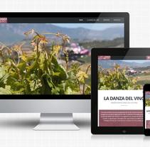 La Danza del Vino. Un proyecto de Diseño de Edorta Ramírez         - 16.12.2013