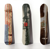 Burton Snowboards' 2015 'Backyard Project' collection.. A Design project by Lorenzo Bennassar - Dec 23 2013 12:00 AM
