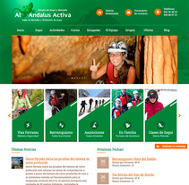 Diseño Web AlAndalusActiva.com. Un proyecto de Diseño de Closemarketing         - 30.11.2013
