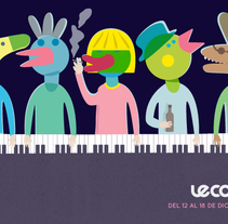 Portadas Le Cool. A Design&Illustration project by Judy Kaufmann - Dec 31 2013 12:00 AM