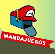 Web de juegos online | Mandajuegos. Un proyecto de Diseño e Ilustración de Ricardo Imbern         - 03.01.2014