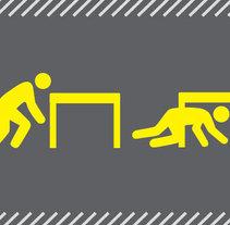 Ficha de seguridad en caso de terremotos. Um projeto de Design e Ilustração de Alex Prellezo         - 07.01.2014