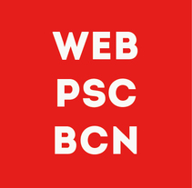 WEB PSC BARCELONA. A Design project by Nacho Vargas - 31-10-2013