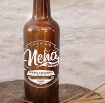 La Nena, Cerveza Artesanal. A Design project by ememinúscula Mercedes Díaz Villarías - 01.16.2014