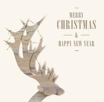 Merry Christmas. Um projeto de Design e Ilustração de Manuel Estelles Miralles         - 21.01.2014