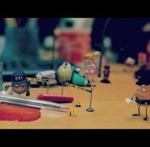 bumper CSI. Um projeto de Animação de Jordi Solis         - 14.05.2013