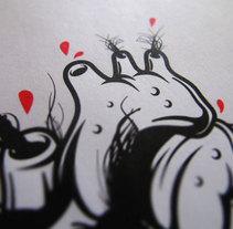 Donde hay pelo, hay alegría // Ilustración. Un proyecto de Ilustración de Tony Raya  - Jueves, 23 de enero de 2014 00:00:00 +0100