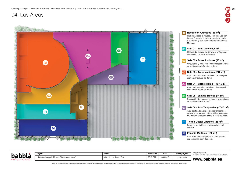 Propuesta museo circuito de jerez domestika for Ejemplo de programa de necesidades arquitectura