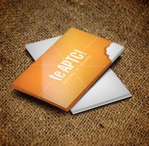 Te APTC! Dulces de diseño. Um projeto de Br, ing e Identidade, Design gráfico e Web design de Nerea Gutiérrez         - 20.11.2013