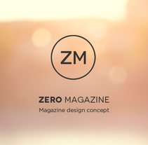 Zero Magazine. A Br, ing, Identit, Art Direction, and UI / UX project by Julián Pascual - Feb 02 2014 12:00 AM