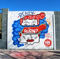 LA CALLE. Un proyecto de Ilustración, Fotografía y Pintura de Del Hambre  - 07-02-2014