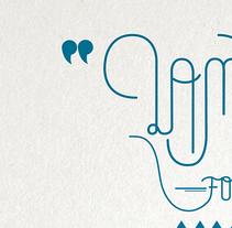 Letterings para Brugal. Um projeto de Direção de arte e Tipografia de Ábrego Le Dom         - 12.02.2014