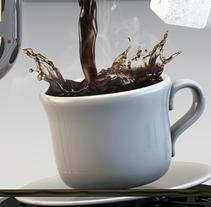 Coffee?. Un proyecto de Diseño, 3D y Dirección de arte de JVG         - 15.02.2014