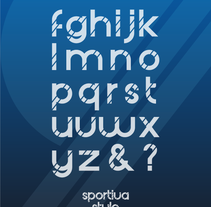 Sportiva Style Type. A T, and pograph project by Naone  - 16-02-2014