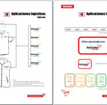 Diseño y maquetación del Manual de imagen corporativa de la entidad. A Br, ing&Identit project by Punto Abierto   - 23-02-2012