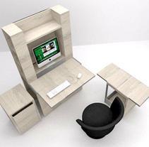 MUEBLE PC COMPACTO. Um projeto de Design de móveis de Maria Garcia Garcia         - 27.02.2014