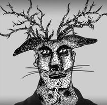 Ilustraciónes y logotipo, albúm CD. A Illustration project by Karine Jaume - 27-02-2014