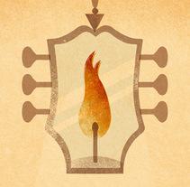 Cartel NEGRO + ESPERIT!. Um projeto de Design e Ilustração de Luis Demano         - 02.03.2014