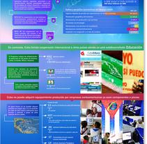 Infografía sobre el Desarrollo del Milenio-Cuba. A Graphic Design, Information Architecture&Information Design project by Amelia Pardo Vázquez - 06-03-2014
