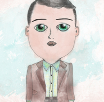 Little Man. A Illustration project by Carol Riverós         - 07.03.2014